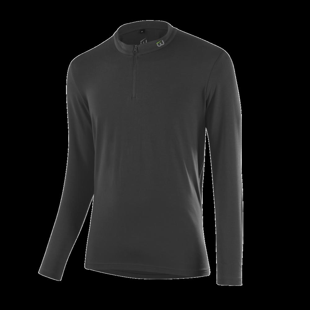 WINTERSTEIGER Langarm-Shirt, anthrazit