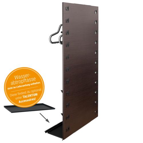 Trockner Universal 2 Sets, Panel Eiche Schwarz-Braun, Haken, 230V/50Hz,